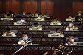 Le Premier ministre malaisien obtient un vote de crédibilité au Parlement