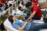Itinéraire rouge 2020 : plus de 800 unités de sang collectées dans la ville de Vung Tàu
