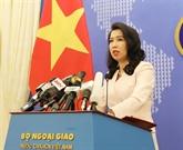 Mer Orientale : le Vietnam salue les positions des pays conformes au droit international