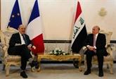 Jean-Yves Le Drian en Irak pour encourager à continuer la lutte contre l'EI