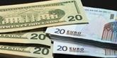 L'euro recule face au dollar américain après une BCE sans surprise