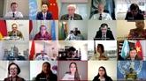 Le Conseil de sécurité de l'ONU discute des violences sexuelles liées aux conflits