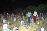 Cérémonie à la mémoire pour les martyrs au cimetière international Vietnam - Laos