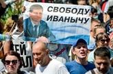 Une grande ville russe mobilisée contre l'arrestation de son gouverneur