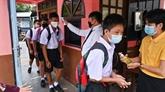 Retour à l'école en Thaïlande et découverte de nouveaux cas en Indonésie et aux Phlippines
