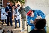 L'Afrique du Sud enregistre un record d'infections en un jour