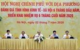 Le PM souligne la nécessisté d'une reprise économique