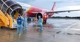 Vietjet continue d'intensifier des vols de rapatriement