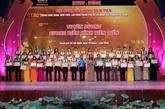 Hô Chi Minh-Ville : plus de 210 travailleurs à l'honneur