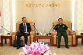 Le ministre vietnamien de la Défense reçoit l'ambassadeur japonais