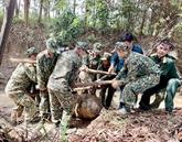 Khanh Hoà accord neuf milliards de dôngs aux opérations de déminage