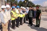 Le progrès des travaux du nouveau siège de l'Assemblée nationale du Laos assuré