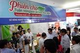 Semaine des produits agricoles sécuritaires à Cân Tho