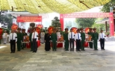 Inhumation des restes des soldats volontaires vietnamiens tombés au Cambodge