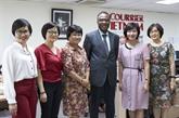 Le BRAP et Le Courrier du Vietnam intensifient leur coopération