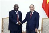 Le Premier ministre reçoit l'ambassadeur du Nigeria