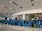 Rapatriement de plus de 340 citoyens vietnamiens au Japon
