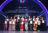 Remise des VIe Prix nationaux de l'information pour l'étranger