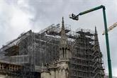 Notre-Dame : fin du démontage de l'échafaudage