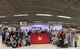 Environ 200 Vietnamiens rapatriés de pays d'Asie du Sud