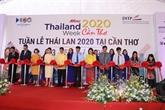 Ouverture de la semaine des produits thaïlandais à Cân Tho