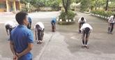 Les collaborateurs spéciaux d'un centre de désintoxication à Hai Phong
