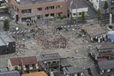 Un mort et 17 blessés dans une explosion à Fukushima