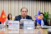La coordination d'actions vitale pour la reprise post-pandémique de l'ASEAN
