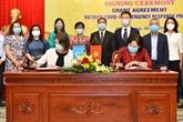 Assistance au Vietnam pour répondre à l'épidémie de COVID-19