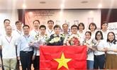 Olympiades de Chimie 2020 : le Vietnam se classe au 2e rang mondial