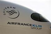 Air France-KLM accuse 2,6 milliards d'euros de perte au 2T