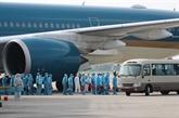 Retour des citoyens vietnamiens de Guinée équatoriale après un long vol