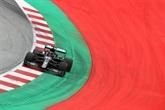 F1 : Hamilton et Mercedes au rendez-vous des premiers essais libres en Autriche
