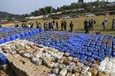 Le Myanmar saisit une quantité énorme de stimulants et de métamphétamine