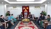 La province de Binh Duong promeut ses liens avec les localités laotiennes