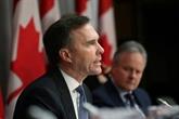 Canada : la pandémie pousse le déficit budgétaire à un niveau historique