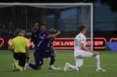 MLS : premier match disputé, entre cérémonie antiraciste et craintes du coronavirus