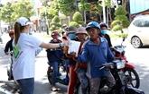 Ninh Thuân contrôle les travailleurs revenus de zones touchées par l'épidémie de COVID-19
