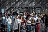 L'Île-de-France étouffe entre canicule et port du masque