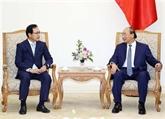 Le PM reçoit le directeur général de Samsung Vietnam