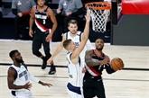 NBA : Lillard marque 61 points, Phoenix étend sa série d'invincibilité