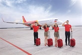 Les vols de Vietjet offre des bagages enregistrés gratuits
