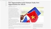 Business Times met en évidence de nouvelles opportunités dans le commerce UE - Vietnam