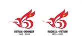 Logo marquant les liens diplomatiques Vietnam - Indonésie : un Vietnamien remporte le concours