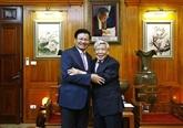 L'ancien dirigeant du Laos partage sa profonde impression sur le camarade Lê Kha Phiêu