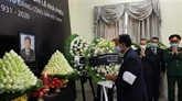 Cérémonies funéraires de l'ancien secrétaire général du Parti, Lê Kha Phiêu, au Laos et au Cambodge