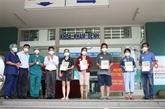 COVID-19 : cinq patients de Dà Nang ont été guéris