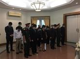 Dernier hommage rendu à l'ancien secrétaire général du Parti, Lê Kha Phiêu, à l'étranger