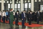Près de 660 délégations assistent au deuil national de l'ancien leader du PCV