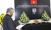 Hommage posthume à Lê Kha Phiêu dans les pays d'Amérique latine